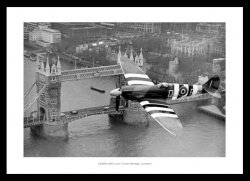 Spitfire Over London Classic Photo