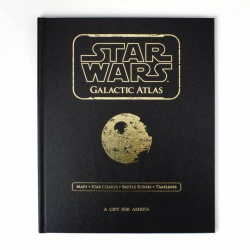 Personalised Star Wars Galactic Atlas Book