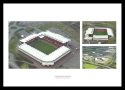 Stoke City Bet365 Stadium Aerial Views Photo Memorabilia