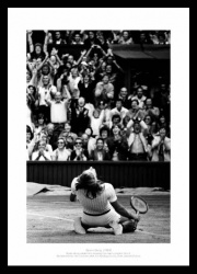 Bjorn Borg Wins 5th Wimbledon Title Photo Memorabilia