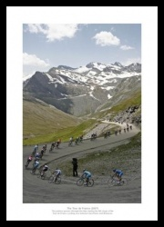 Tour de France Photo Memorabilia -  Val-d'Isre to Brianon