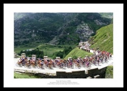 Tour de France - Sestrieres to L'Alpe-D'Huez Photo Memorabilia
