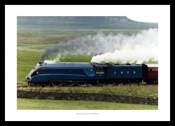 Gresley A4 Class No.4468 Mallard Historic Steam Train Photo