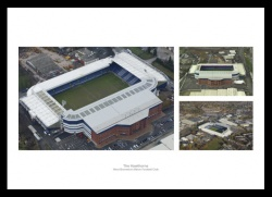 West Bromwich Albion The Hawthorns Aerial Views Photo Memorabilia