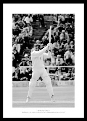 Ian Botham 1981 Headingley '149 Not Out' England Ashes Photo Memorabilia