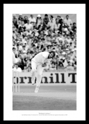 Ian Botham 1981 Ashes '5 for 11' England  Cricket Photo Memorabilia