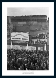 Stamford Bridge 1945 Historic Chelsea FC Photo Memorabilia