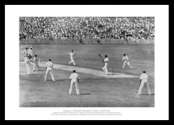 Bodyline Series 1932/33 Historic Cricket Photo Memorabilia