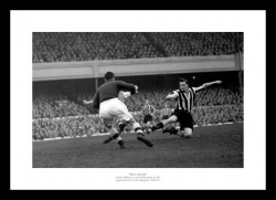 Newcastle United Jackie Milburn 1948 Photo Memorabilia