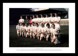 Leeds United 1974 League Champions Team Photo Memorabilia