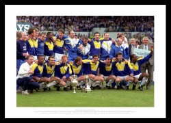 Leeds United 1992 League Champions Team Photo Memorabilia