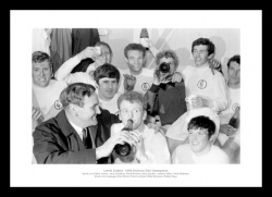 Leeds United 1969 Champions Team Photo Memorabilia
