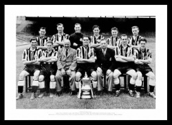 Newcastle United 1951 FA Cup Final Team Photo Memorabilia