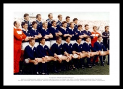 Scotland Rugby Team 1990 Grand Slam Photo Memorabilia