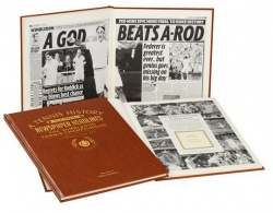 Personalised Wimbledon Tennis Historic Newspaper Book